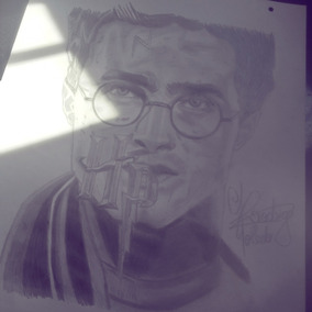 Dibujo Harry Potter Original A Lapiz