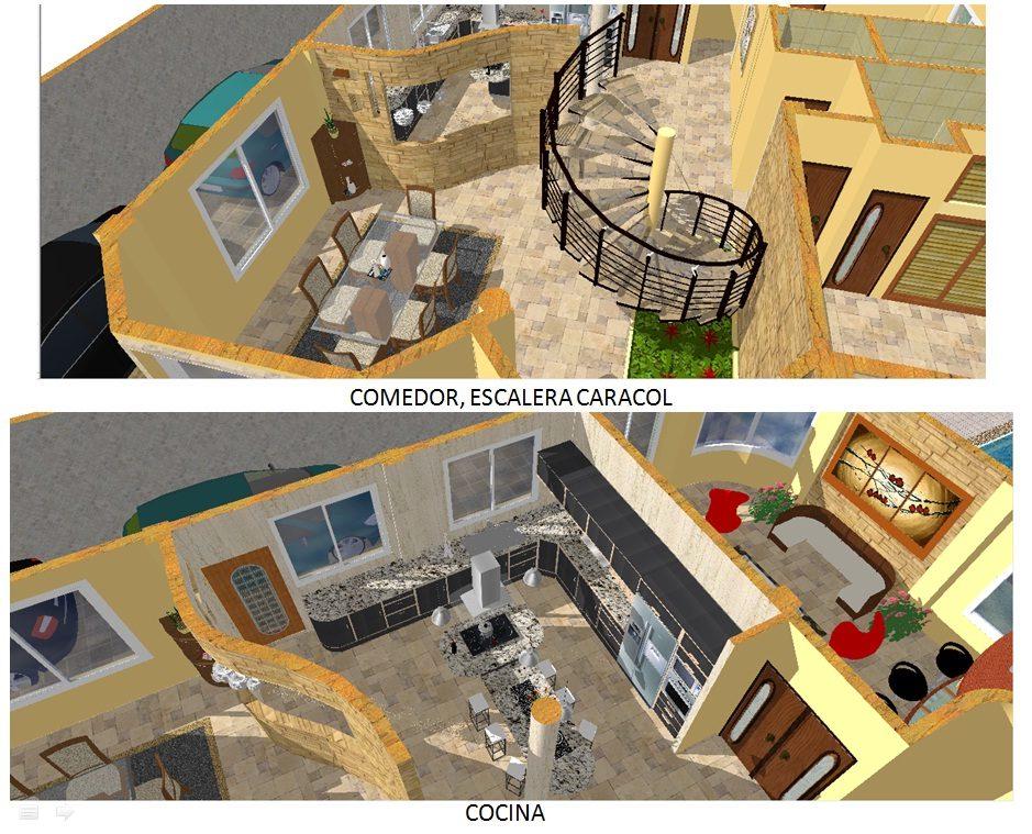 Dibujo planos de arquitectura y mecanicos en autocad 2d y for Planos de arquitectura