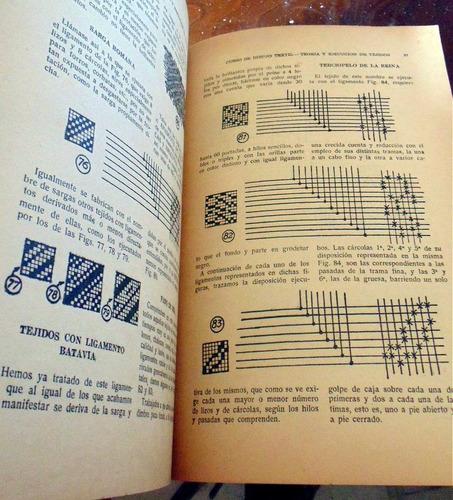 dibujo textil teoria y ejecucion de tejidos r. murcia 1945