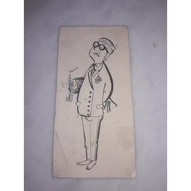 Dibujo Tirando Polilla Antiguo