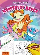 dibujo y pinto monstruos manga(libro )