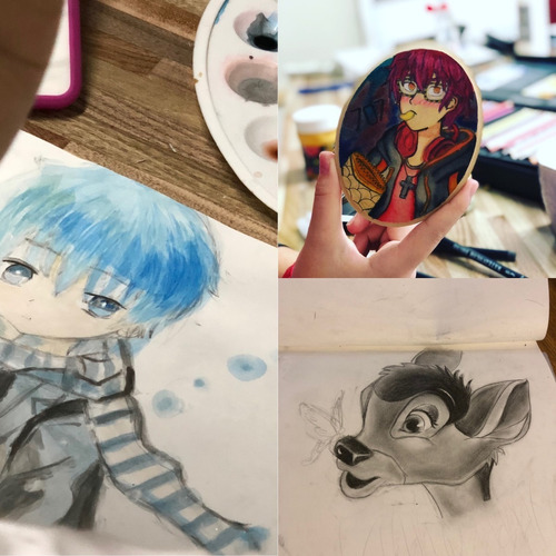 dibujo y pintura para grandes y chicos en pilar