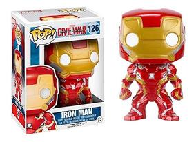 Dibujos Animados Iron Man Figuras De Juguete Modelo Colecció
