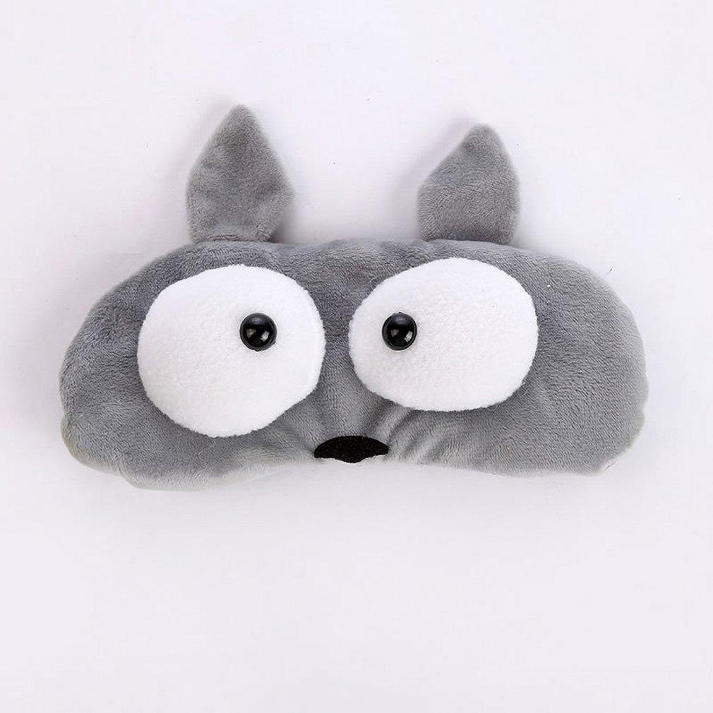 Dibujos Animados Lindo Ojos Grandes Dormir Máscara Ocular Re