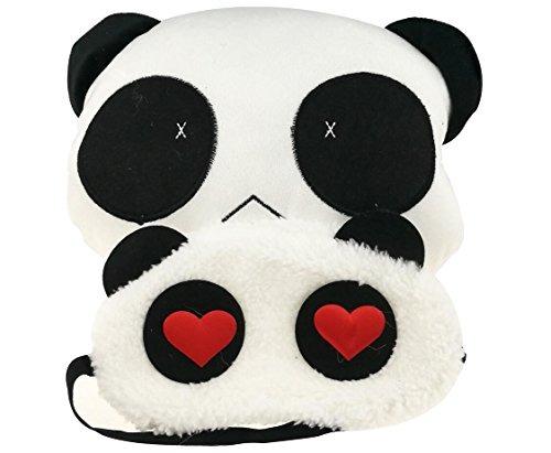Dibujos Animados Lindo Panda Blanco Y Negro Con Los Ojos Ven