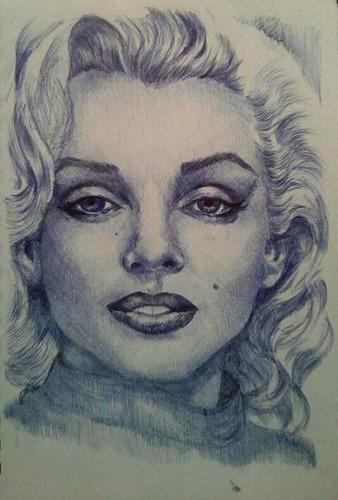 dibujos caricaturas retratos al carboncillo