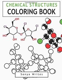 Dibujos De Estructuras Químicas Para Colorear