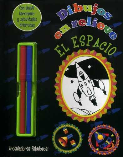 dibujos en relieve - libro + marcadores. ed. parragón