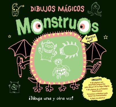 dibujos mágicos. monstruos(libro infantil y juvenil)