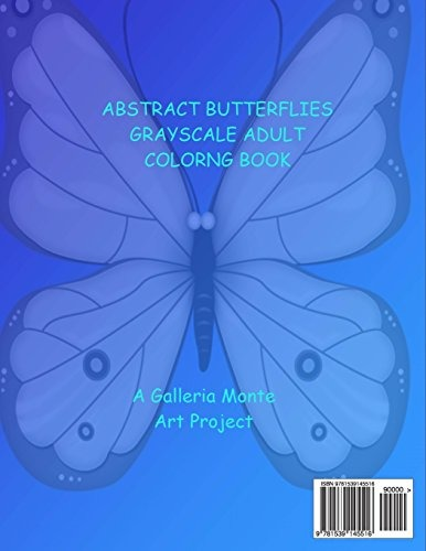 Dibujos Para Colorear Adultos Mariposas En Escala De Grises