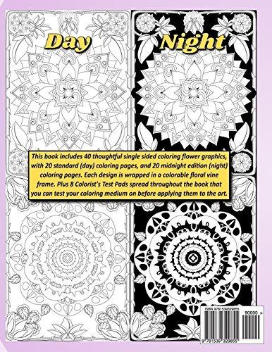 Dibujos Para Colorear De Día O De Noche Adulto Adulto