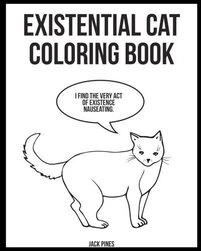 Dibujos Para Colorear Gatos Existenciales