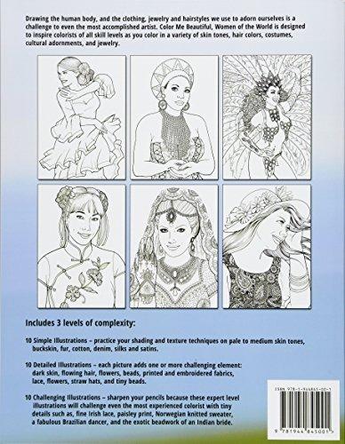 Dibujos Para Colorear Me Hermosas Mujeres Del Mundo Adulto