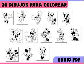 Dibujos Para Colorear Minnie Mouse Mimi