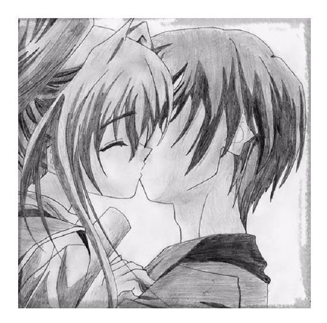Images Of Anime De Amor Para Dibujar A Color