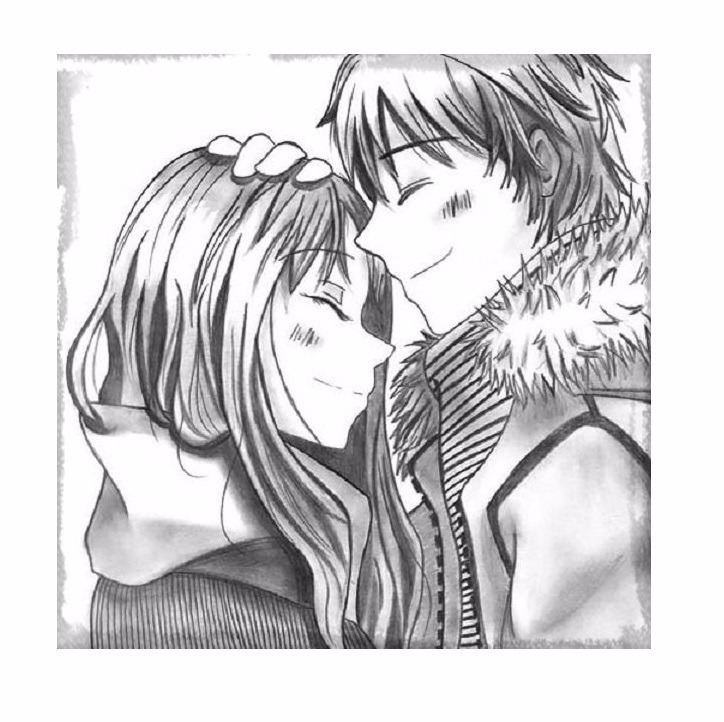 Imagenes De Anime Para Dibujar De Amor A Color