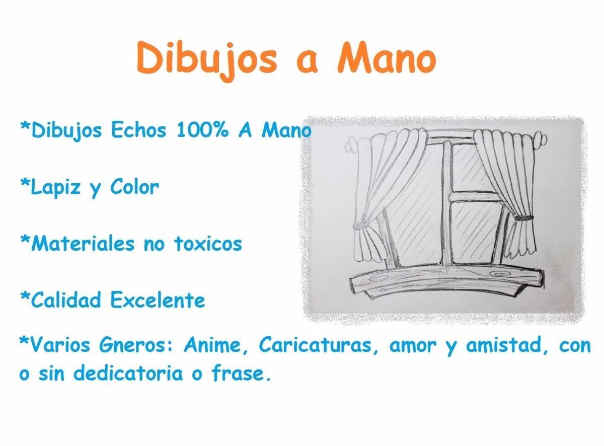 Dibujos Varios 100 Echos A Mano Blanco Y Negro Color 45 00