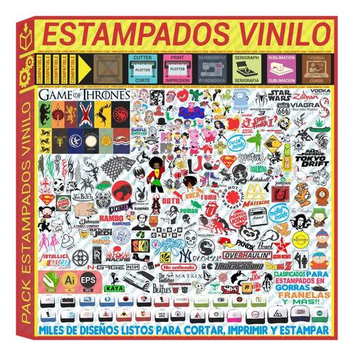 dibujos vectorizados para estampar prendas y accesorios