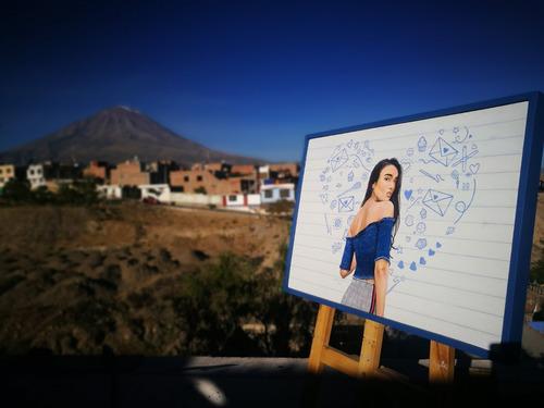dibujos y retratos arequipa - perú