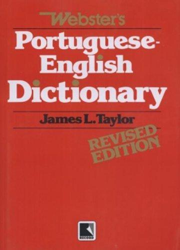 dic websters portugues ingles de taylor james