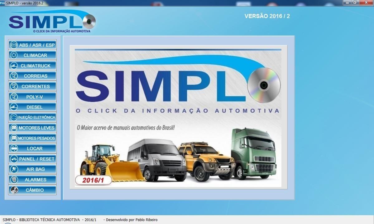 do programa simplo automotivo