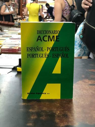 diccionario acme español- portugués / portugués- español