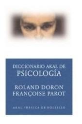 diccionario akal de psicología(libro psicología general)