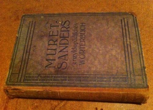 diccionario antiguo alemán inglés 1908