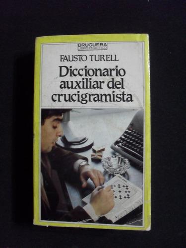 diccionario auxiliar del crucigramista, fausto terell