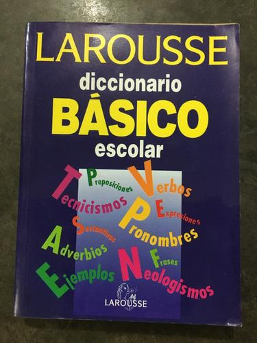 diccionario básico escolar larousse y caracol