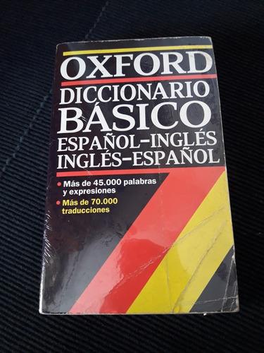 diccionario básico español inglés oxford