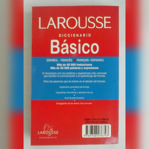 diccionario basico frances español larousse