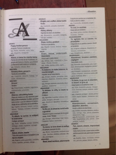 diccionario bilingüe español-inglés sinónimos y antonimos 2t