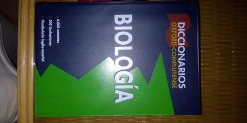 diccionario biología oxford