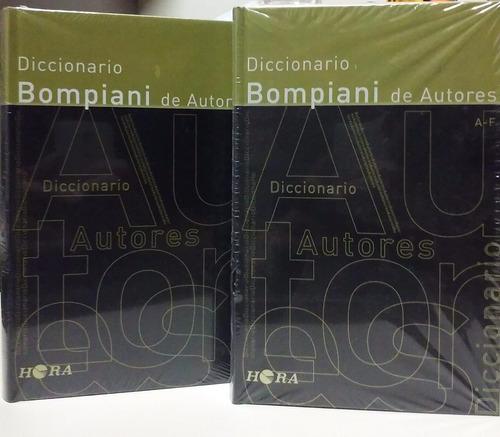 diccionario bompiani de autores - 3 tomos