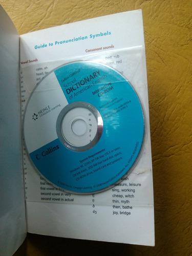 diccionario collins inglés americano incluye cd