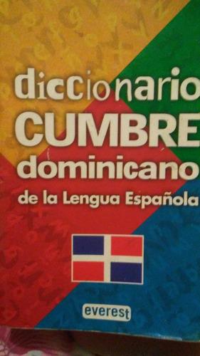 diccionario cumbre dominicano de la lengua española
