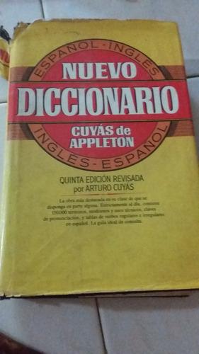 diccionario cuyas de appleton  5ta edicion. tapa dura grande