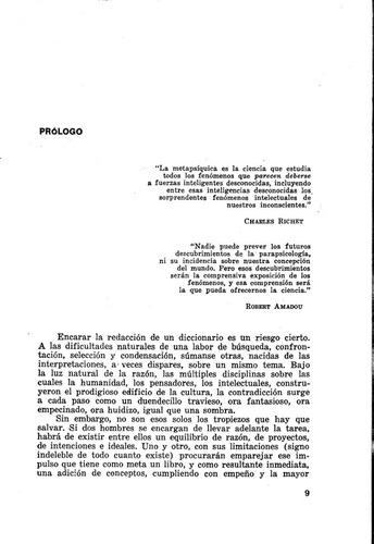 diccionario d parapsicología d héctor v. morel y josé dalí m