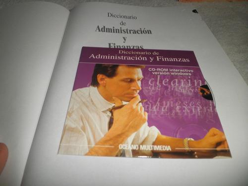 diccionario de administraciòn y finanzas ocèano + cd (nuevo)
