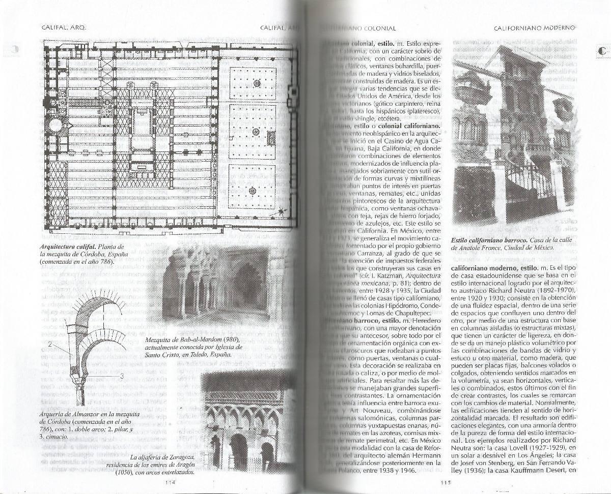 diccionario de arquitectura y urbanismo mario camacho