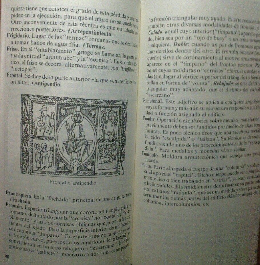 Diccionario De Artes Plásticas - Juan Fernandez Marco, S.j - Bs ...