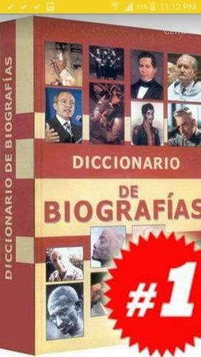 diccionario de biografias