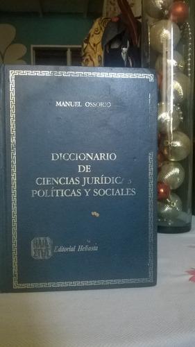 diccionario de ciencias juridicas politicas y sociales leer