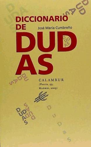 diccionario de dudas(libro )
