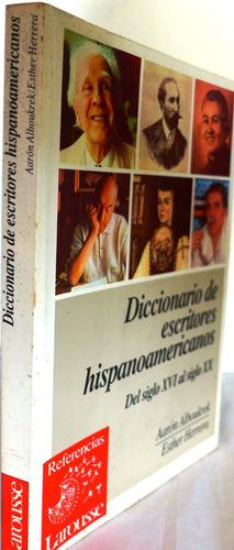 diccionario de escritores hispanoamericanos aarón alboukrek