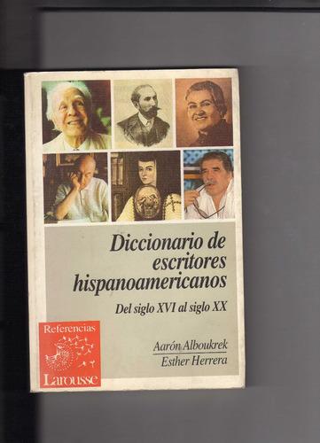 diccionario de escritores hispanoamericanos. alboukrek.