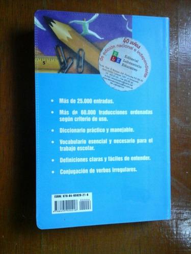 diccionario  de  español-frances  lux