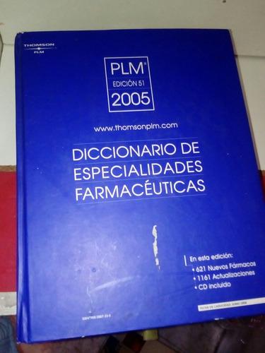 diccionario de especialidades farmaceuticas, plm 2005