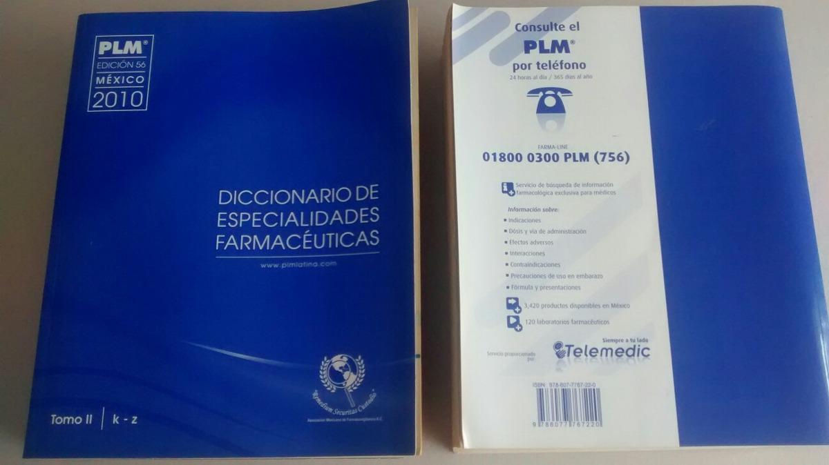 diccionario de especialidades farmaceuticas plm 2010 gratis